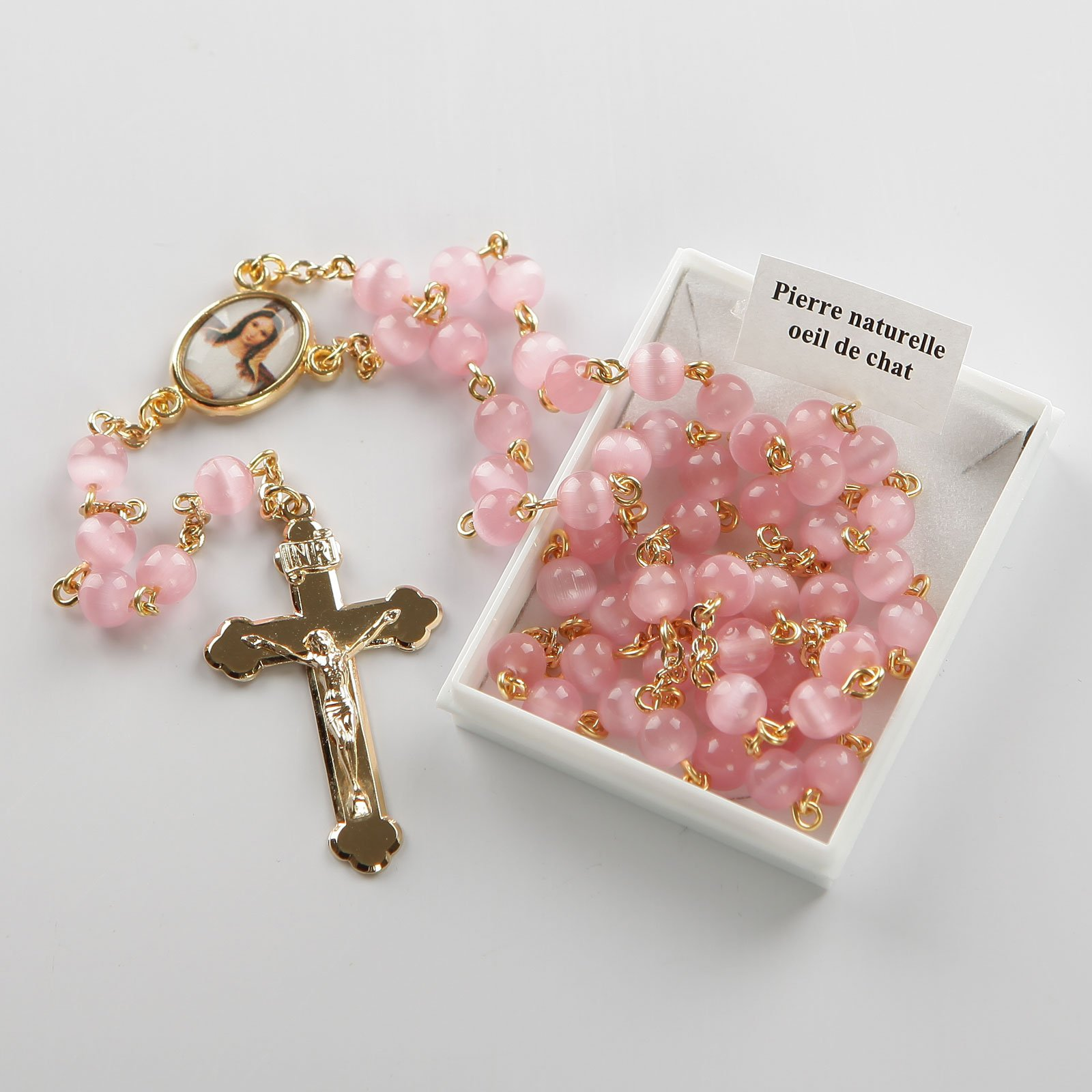 rosary-pink-gold-coloured