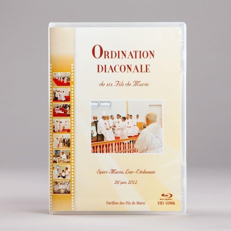 Blu-ray de l'ordination du 29 juin 2012