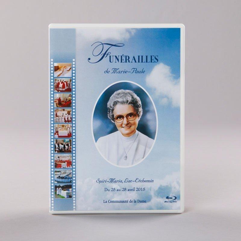 Blu-ray of Marie-Paule's funeral