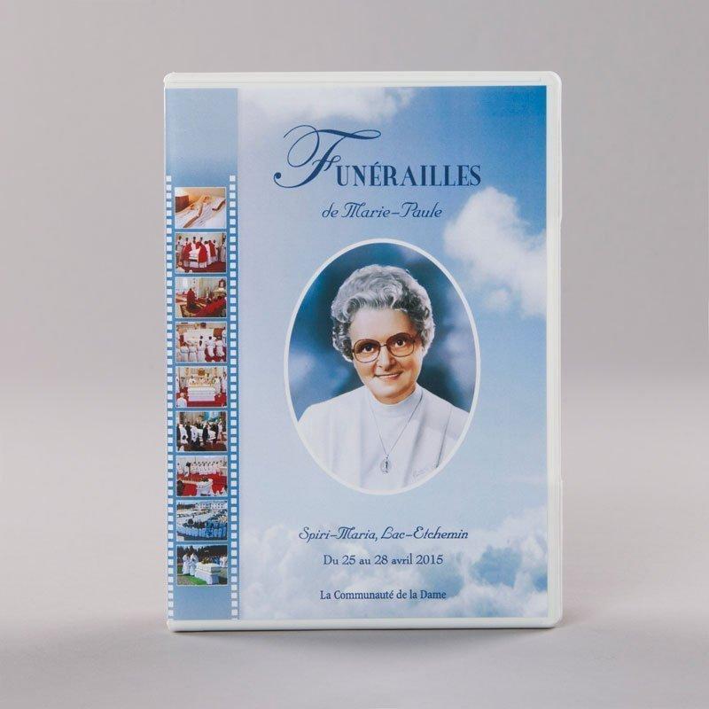 DVD des funérailles de Marie-Paule