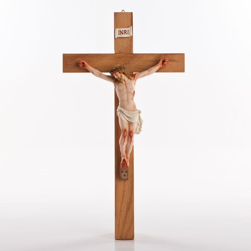 Crucifix couleur