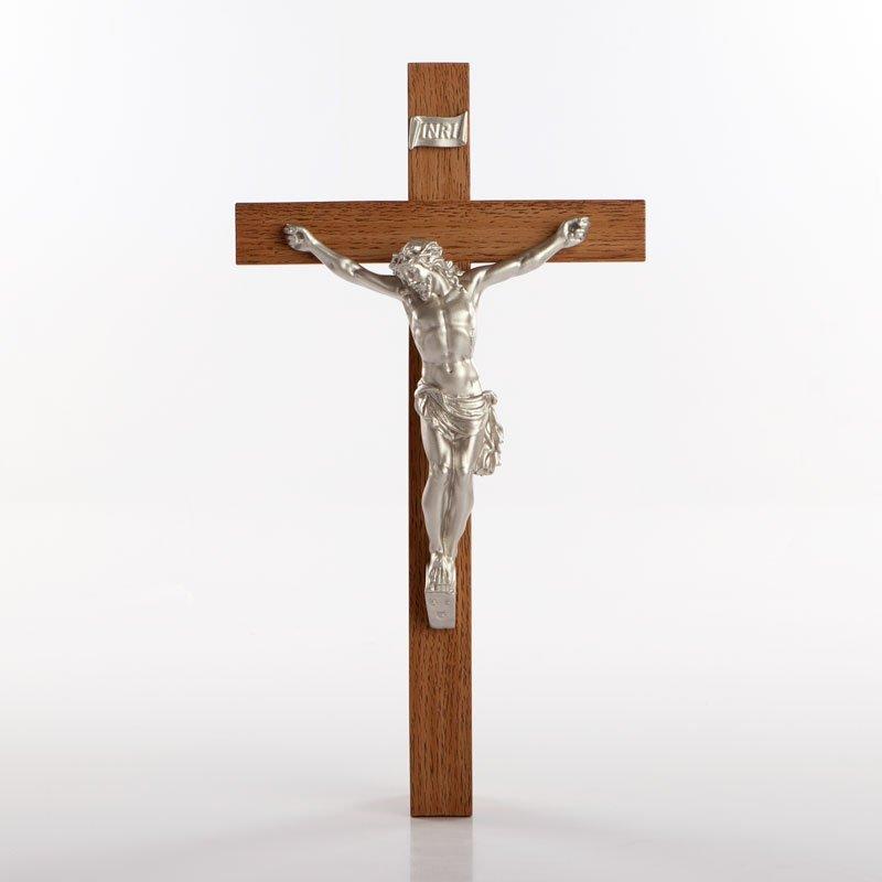 crucifix en uréthane argent