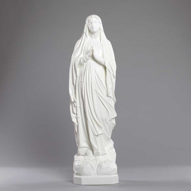 Our Lady of Lourdes outdoor statue