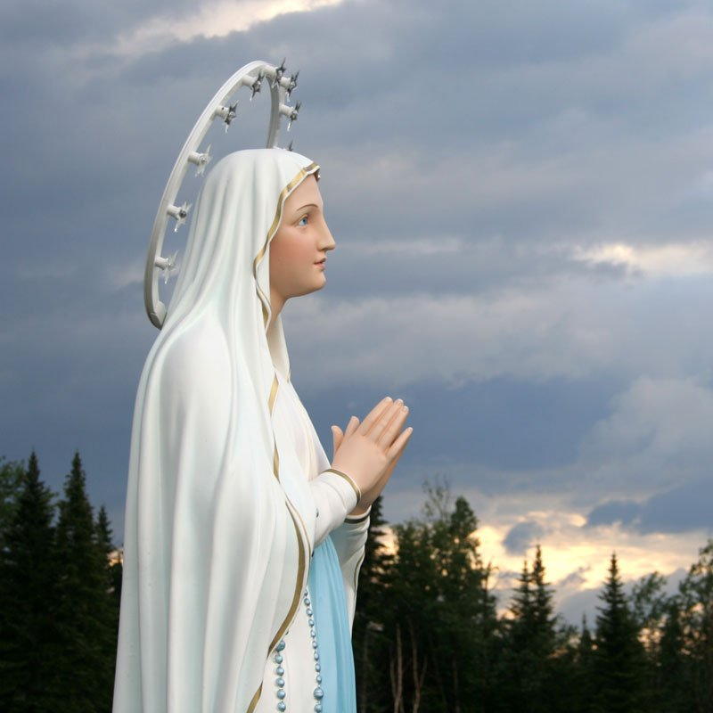 Our Lady of Lourdes outdoors