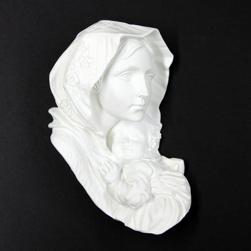 Vierge des pauvres blanc