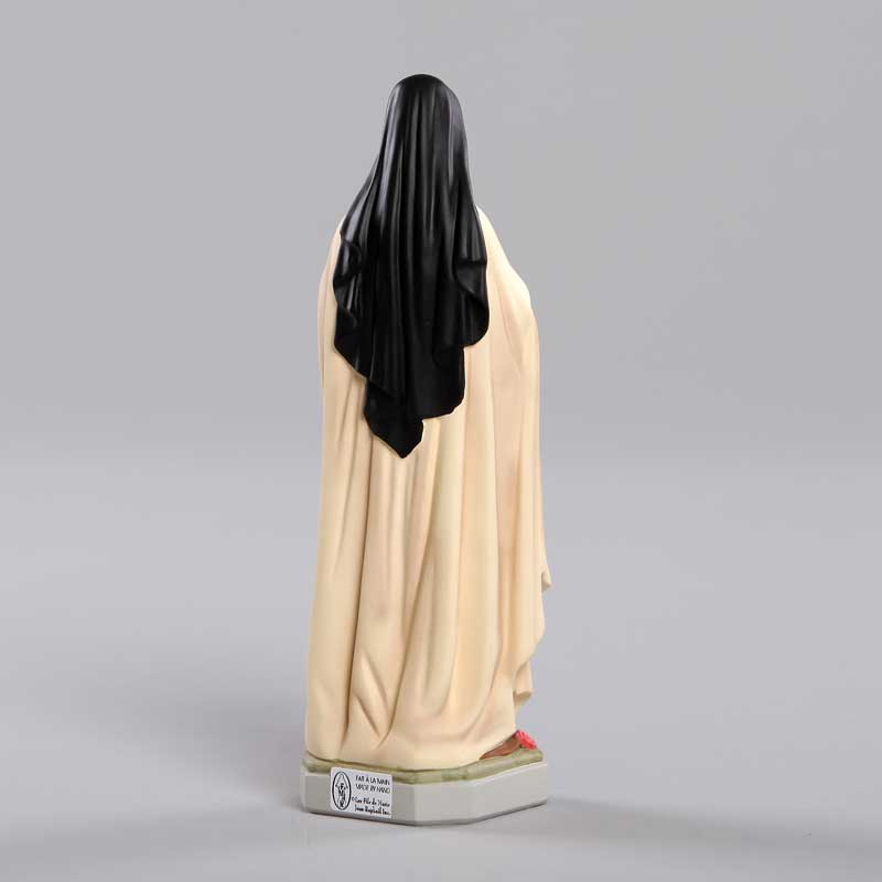 Ste Thérèse de l'Enfant Jésus-vue de dos