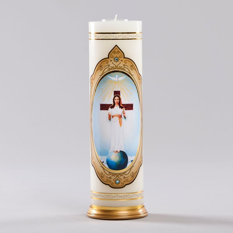 royal candle-lady of all peoples with rosary