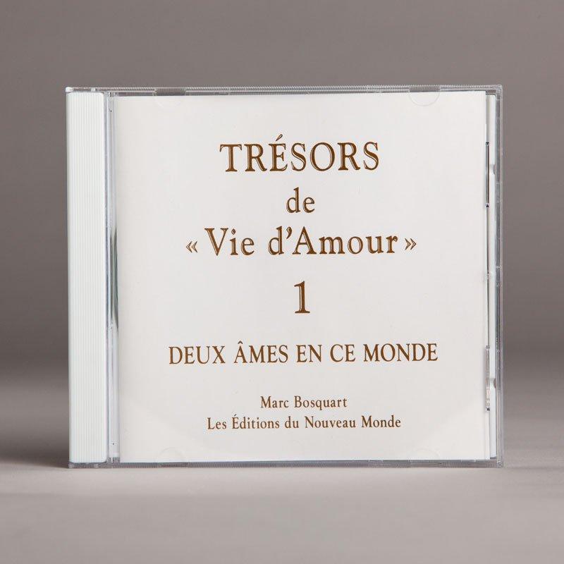 trésors de vie d'amour 1-a-cd