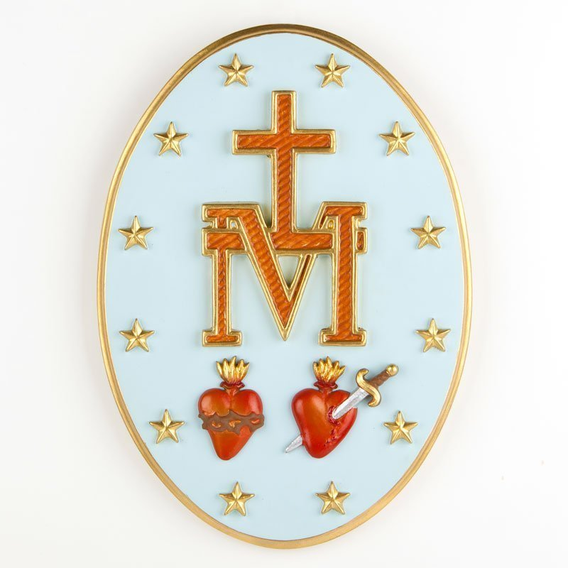 miraculous medal back