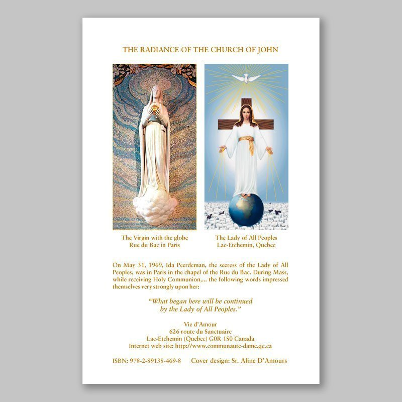 the white book 2-the radiance of the church of john-back page