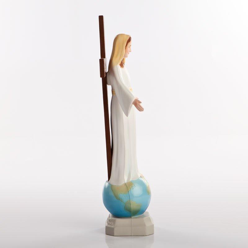 statue dame de tous les peuples pvc couleurs-3