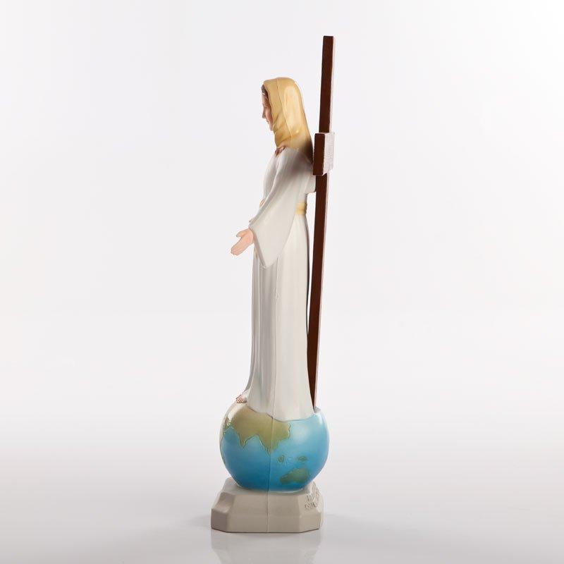 statue dame de tous les peuples pvc couleurs-5