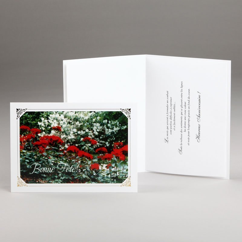 carte anniversaire-jardin fleuri