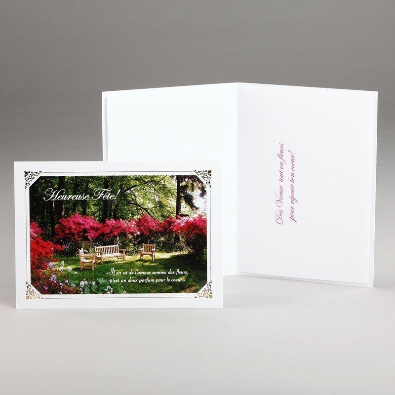 carte anniversaire-doux parfum de l'amour