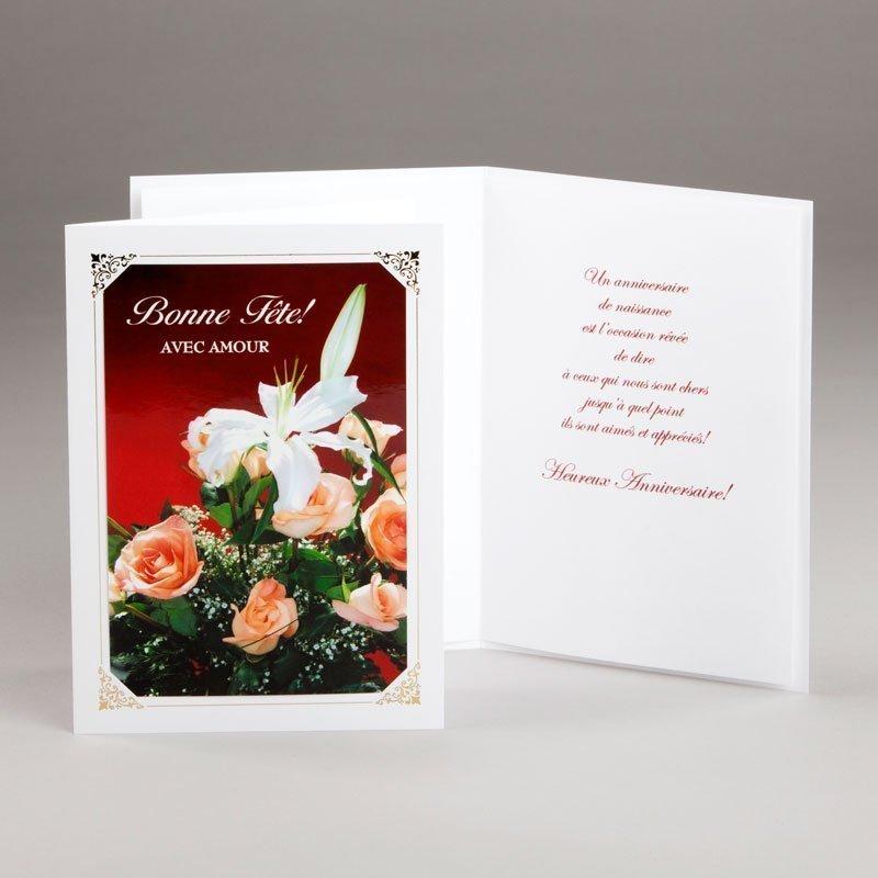 carte anniversaire-bonne fête avec amour