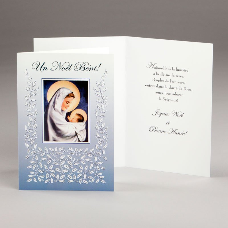 carte de noël-bénédiction de noël