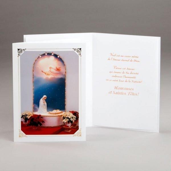 carte de noël-amour éternel du père