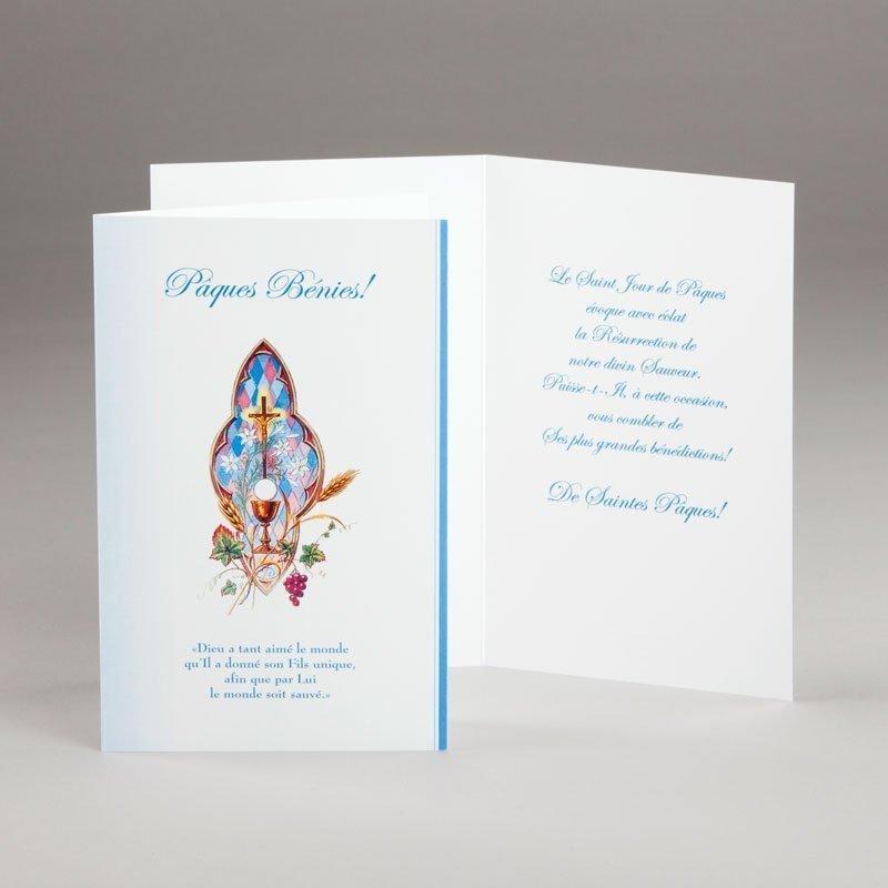 carte de pâques-pâques bénies