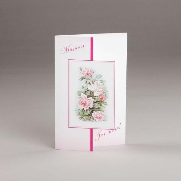 carte fête des mères-maman je t'aime-dessus
