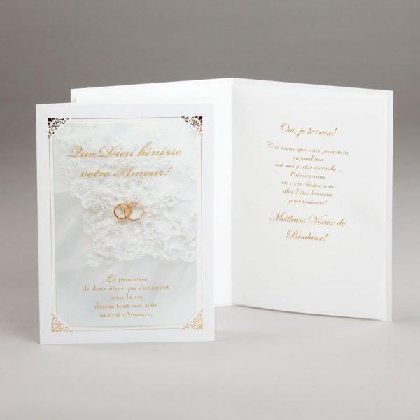 carte mariage-promesse éternelle