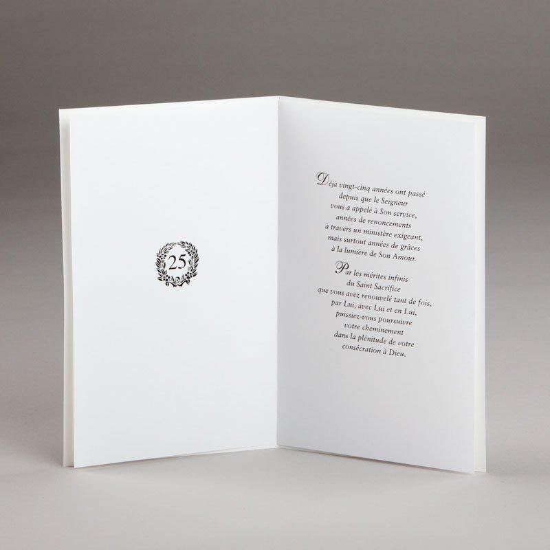 carte jubilé de vie sacerdotale-25e-intérieur