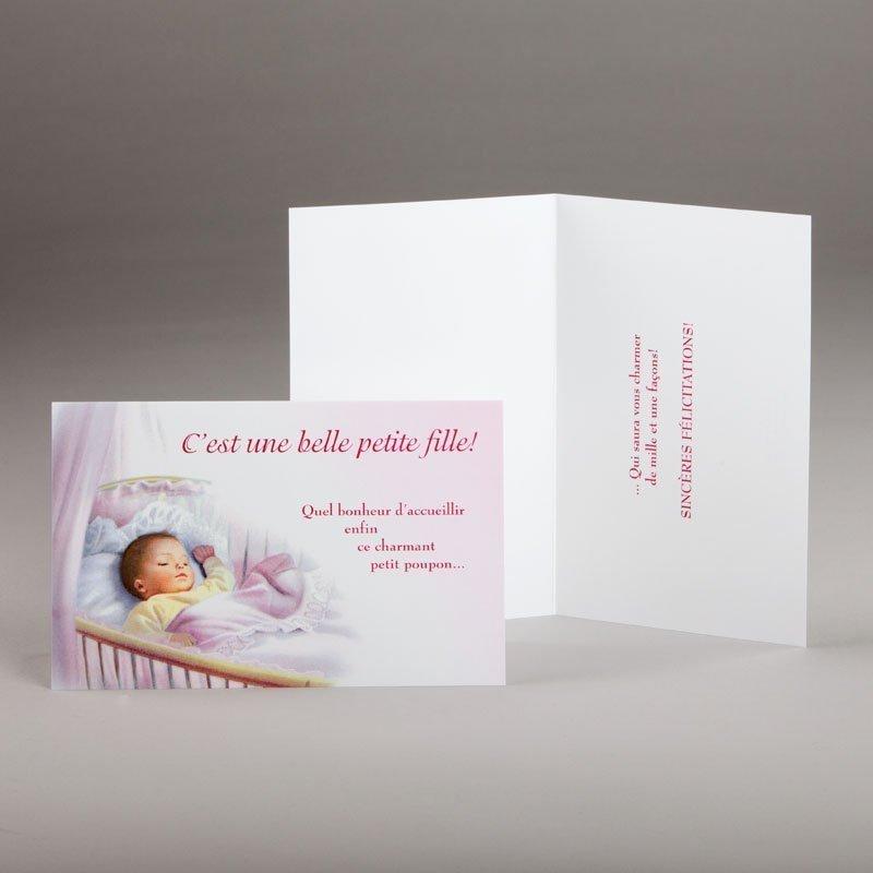 carte naissance-c'est une petite fille