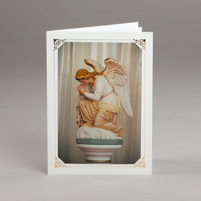 carte photos assorties-ange adorateur