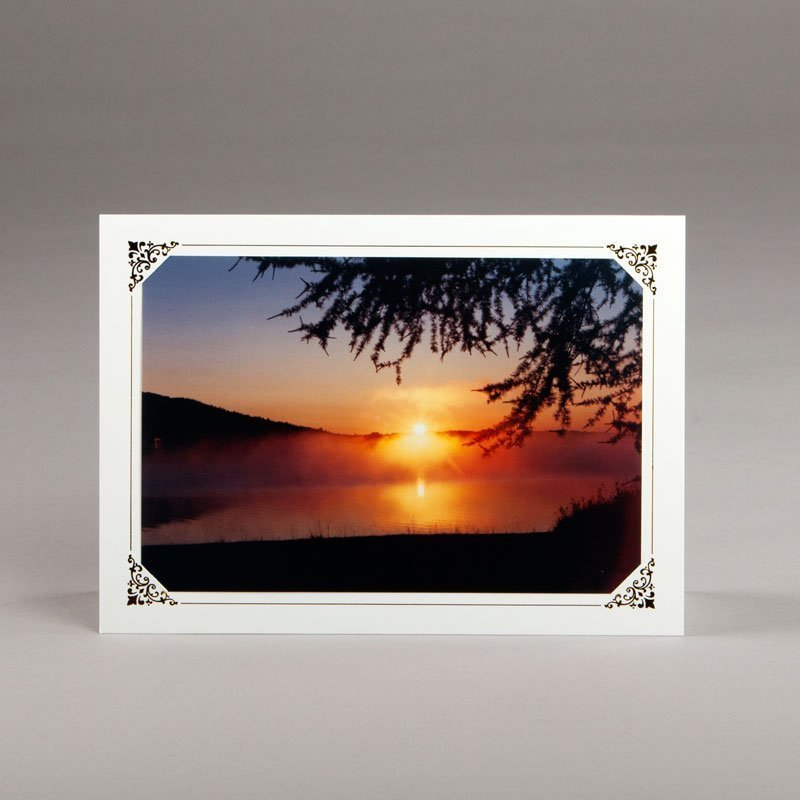 carte photos assorties-lever du soleil