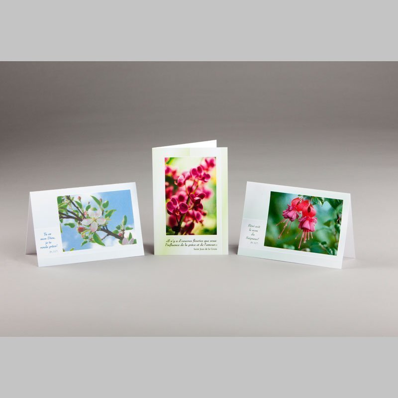 carte notes-éveil printanier 2