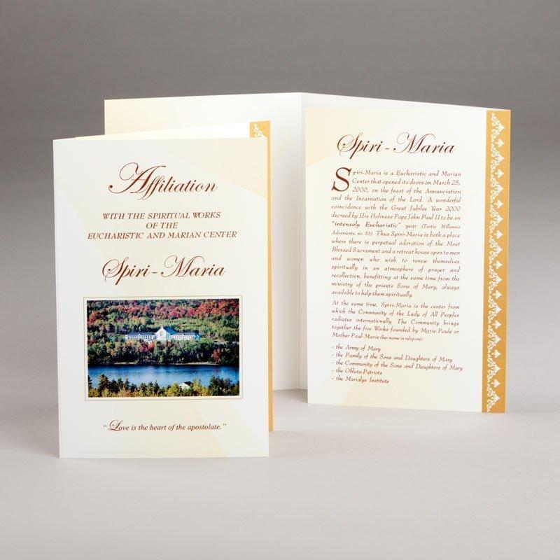 card of affiliation spiri-maria