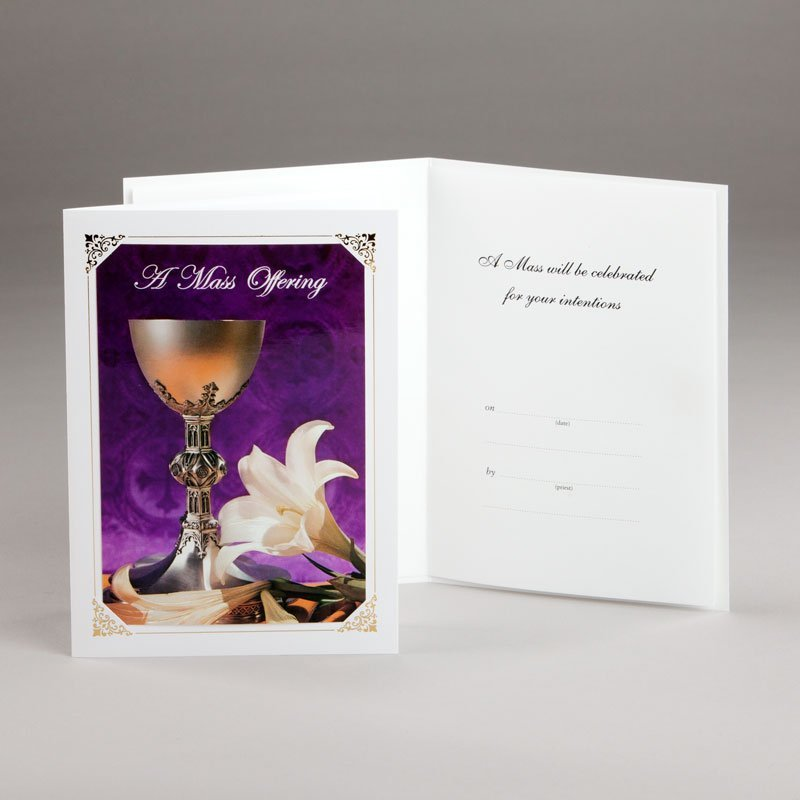 card mass offering-lily