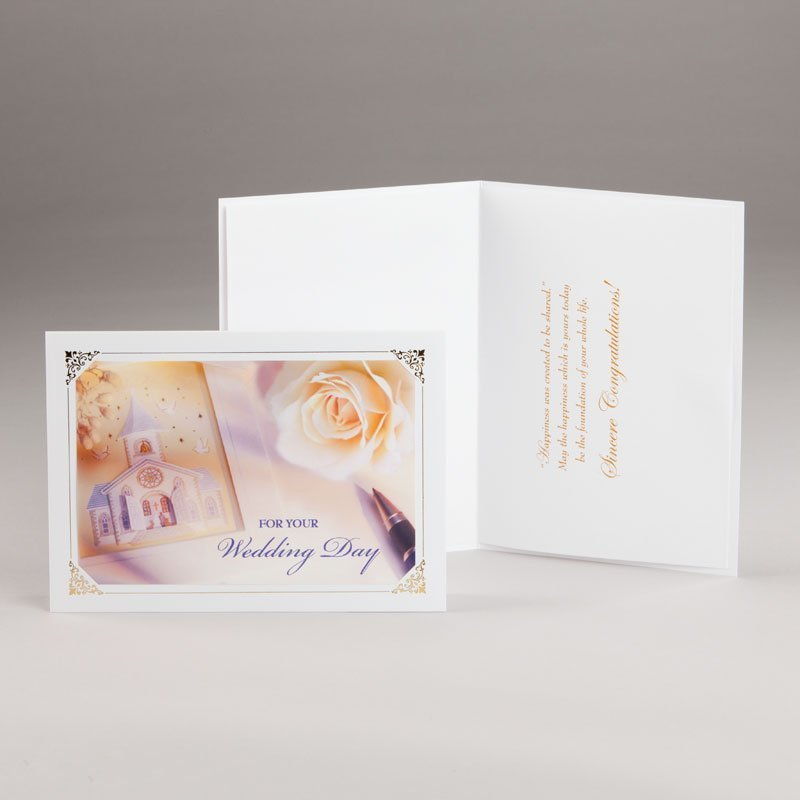 wedding card for your wedding day