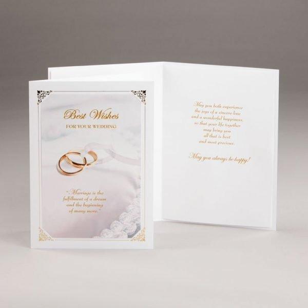 wedding dream wedding card