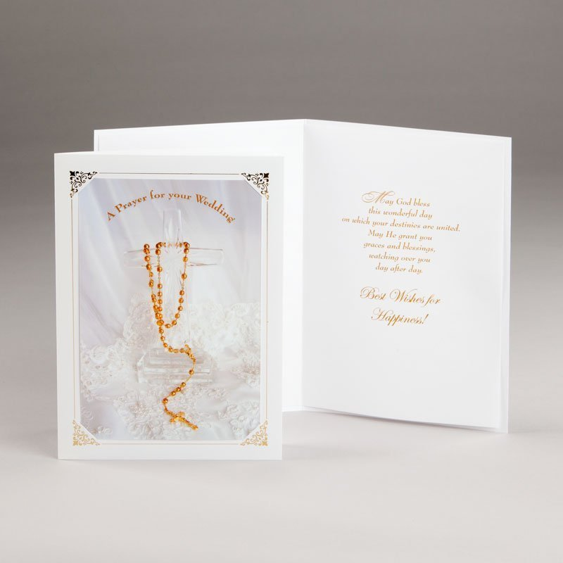 engagement or wedding card-wedding prayer