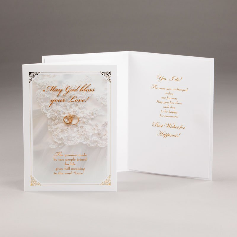 eternal promise wedding card
