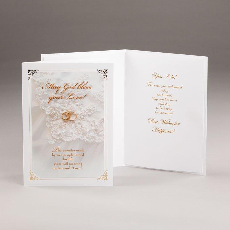 engagement or wedding card-eternal promise