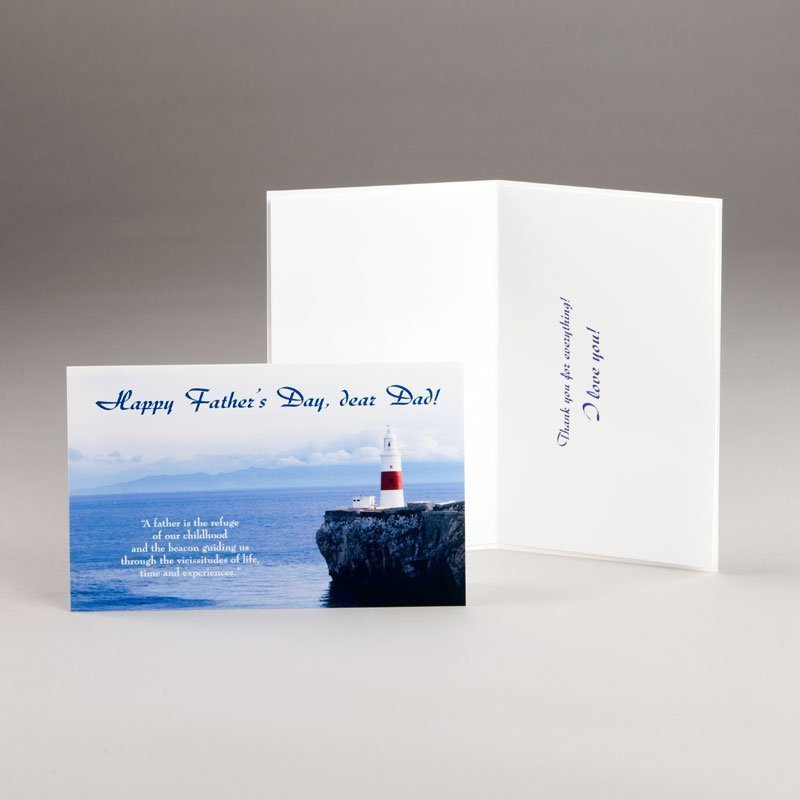 father's day card-beacon of light