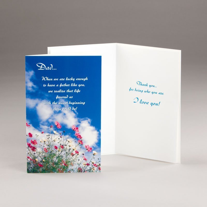 father's day card-nature in the wild