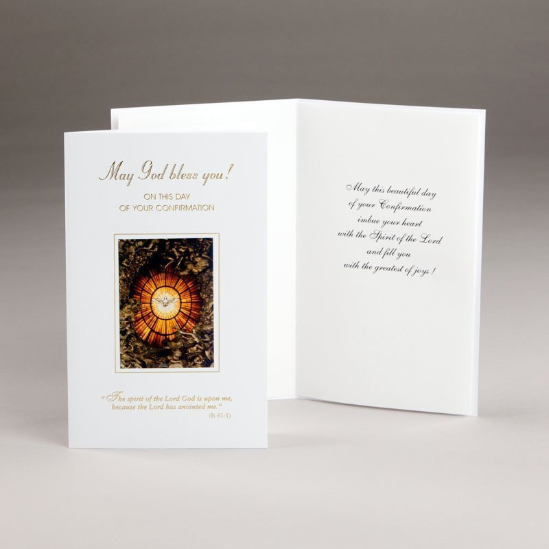 card for confirmation-may god bless you