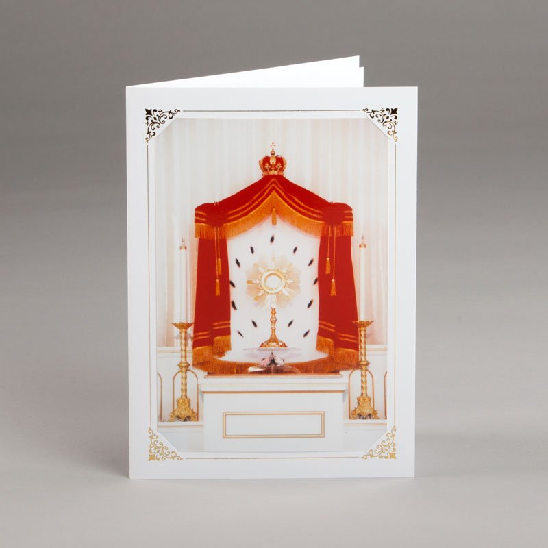 card without verse-monstrance