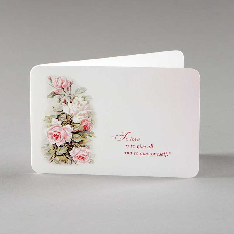 note card - giving of self
