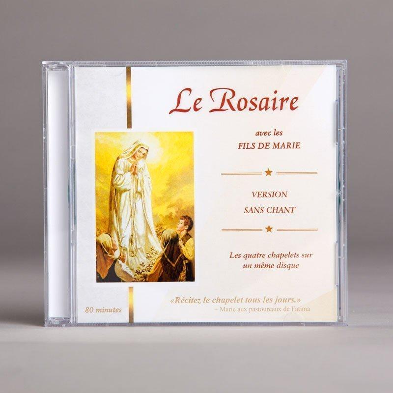 le rosaire avec les fils de marie-sans chant