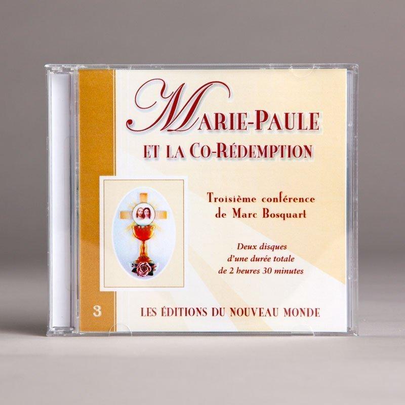 marie-paule et la co-rédemption-cd double