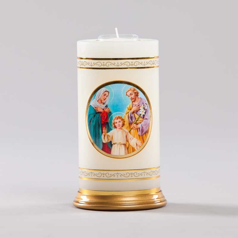 celestial candle-holy family