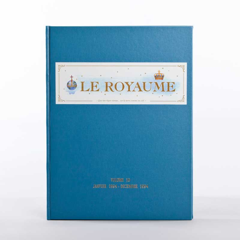 journal le royaume-reliure 10