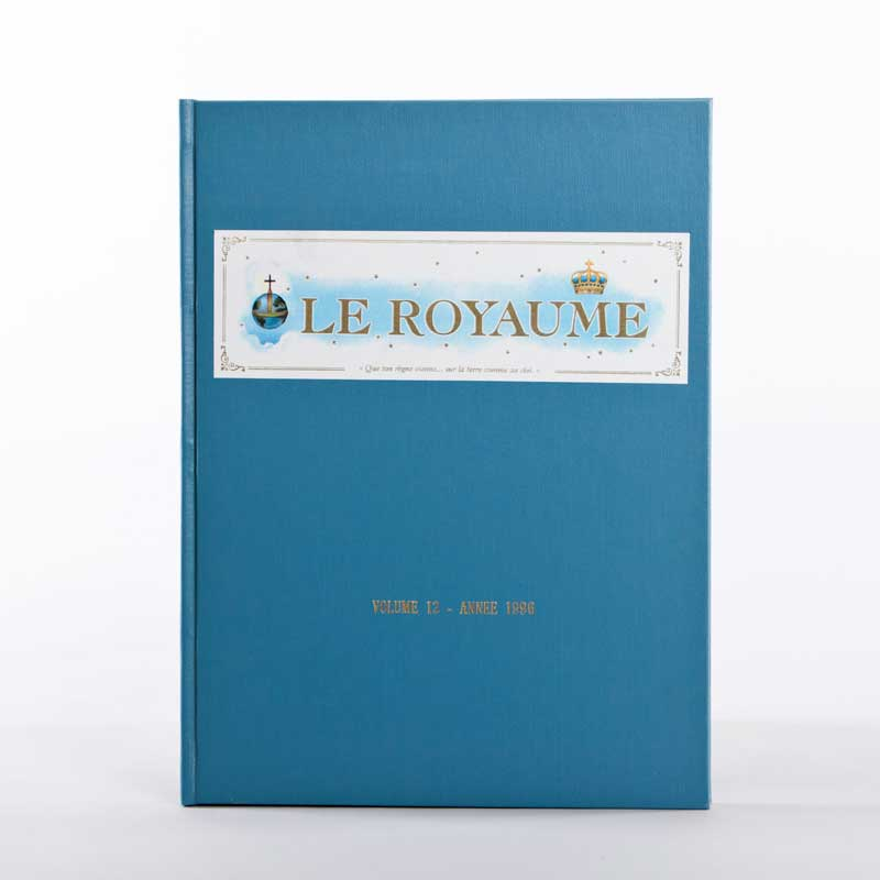 journal le royaume-reliure 12