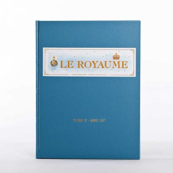 journal le royaume-reliure 13