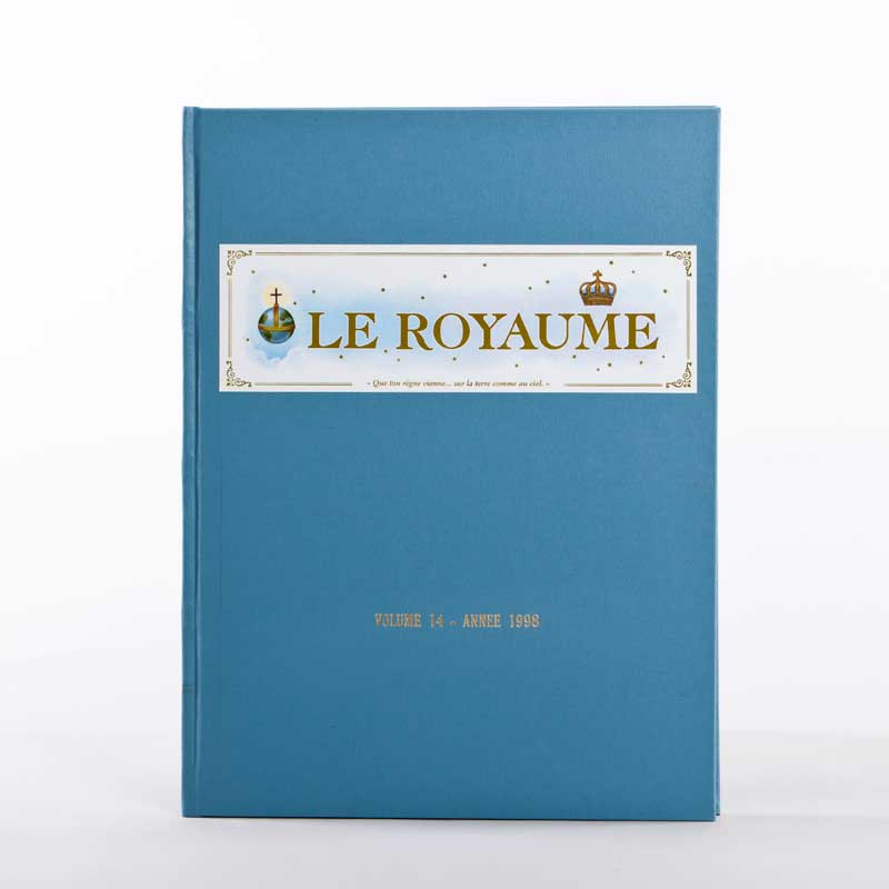 journal le royaume-reliure 14