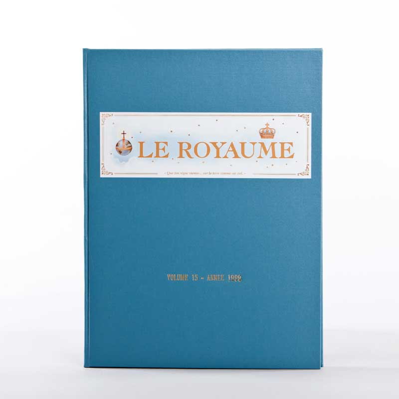 journal le royaume-reliure 15