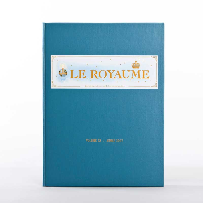 journal le royaume-reliure 23